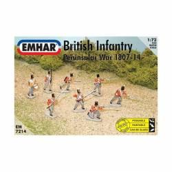 Infantería británica, 1807-1814. EMHAR 7214