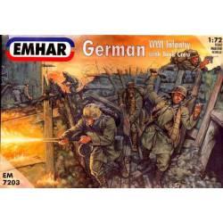 German WWI Artillery. EMHAR 7203