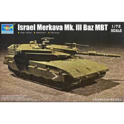 Israel Merkava Mk.III Baz MBT. TRUMPETER 07104