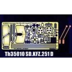 Photo-Etched parts set for Sd.Kfz.251. AFV CLUB TH35010