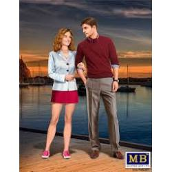 Bob y Salli, pareja feliz. MASTER BOX 24029