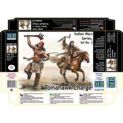 Guerras indias, Tomahawk a la carga.