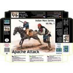 Apache attack. MASTER BOX 35188