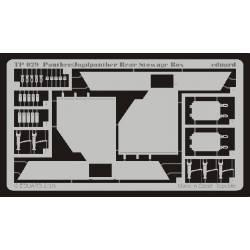 Panther/Jagdpanther: Rear stowage box. EDUARD TP029