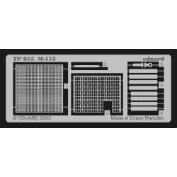 Photo-etched: M-113 (for Tamiya). EDUARD TP015