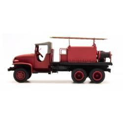 GMC de bomberos, techo de lona. REE MODELES CB-085