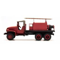 GMC w/ canvas cabin for forest fires. REE MODELES CB-085