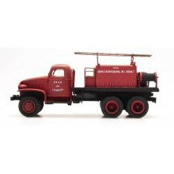 GMC w/ paneled cabin for forest fires. REE MODELES CB-082