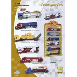 Camión de transportes especiales. GUISVAL 07556