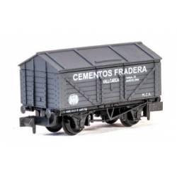 """Cementos Fradera"" box wagon. PECO NR-P938"