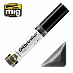 Oilbrusher: gun metal.