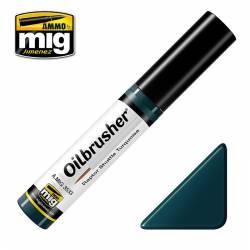 Oilbrusher: Raptor shuttle turquoise. AMIG 3533