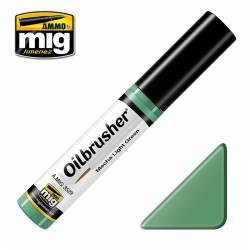 Oilbrusher: verde claro para mechas. AMIG 3529