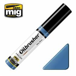 Oilbrusher: sky blue. AMIG 3528