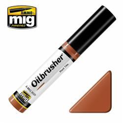 Oilbrusher: red tile. AMIG 3525