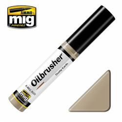 Oilbrusher: dusty earth. AMIG 3523