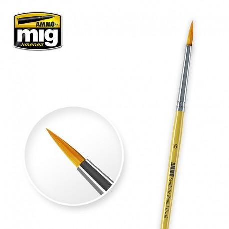 Brush round Nº6. AMIG 8616