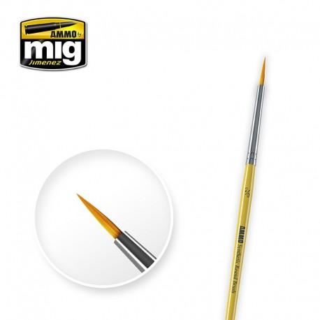 Brush round Nº2/0. AMIG 8612
