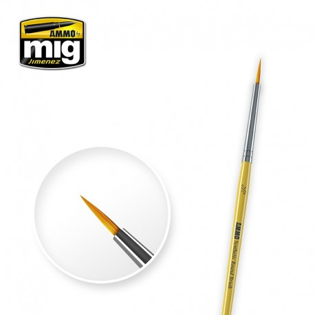 Brush round Nº3/0. AMIG 8611