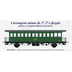 1rd, 3rd class and luggage wagon, ACD1481, CP. LACALLE 00192A