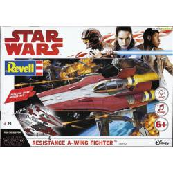 Star Wars: Resistance A-Wing fighter. REVELL 06759
