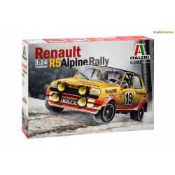 Renault R5 Alpine Rally. ITALERI 3652