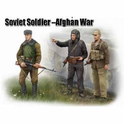 Soldados soviéticos. Guerra de Afghanistán. TRUMPETER 00433