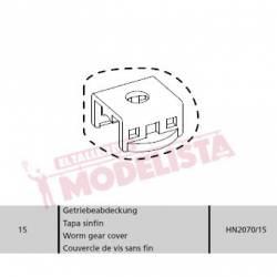 Worm gear cover. Series 353/354. HN2070/15