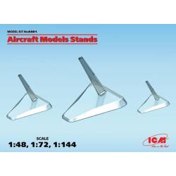Aircraft models stands.