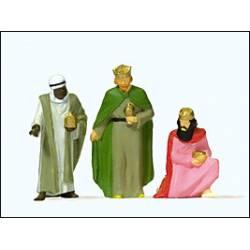 Belén: Los tres Reyes Magos.