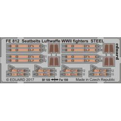 Cinturones para cazas de la Luftwaffe.