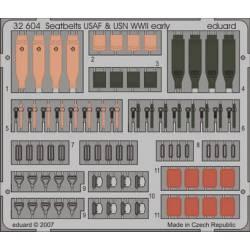 Cinturones para aviones USAF & USN. EDUARD 32604
