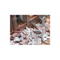 Obstáculos antitanques: barricadas. JUWEELA 27174