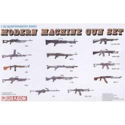Modern machine gun set. DRAGON 3806