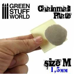 Placa texturizada: Cota malla, talla M. GREEN STUFF 368709