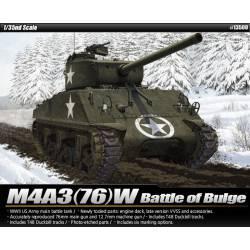 M4A3(76)W, Batalla de las Ardenas. ACADEMY 13500