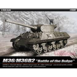 M36/M36B2, Battle of Bulge.