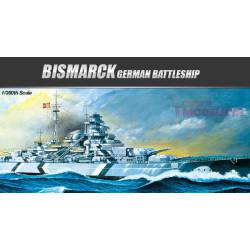 Bismarck German Battleship. ACADEMY 14109