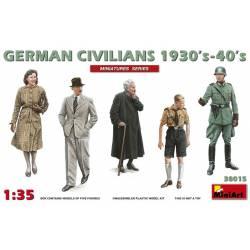Civiles alemanes, 1930 - 1940. MINIART 38015
