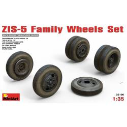 ZIS-5 family wheels set. MINIART 35196