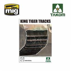 King Tiger tracks. TAKOM 2048
