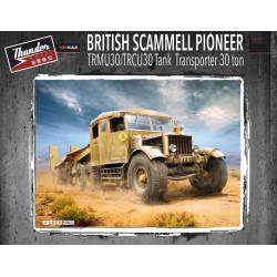 British Scammel Pioneer transporter. THUNDER 35200
