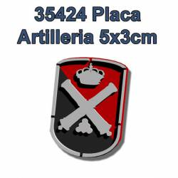 Placa de artillería para peanas. FCMODELTIPS 35424