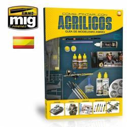 Guía de modelismo: como pintar con acrílicos. AMIG 6041