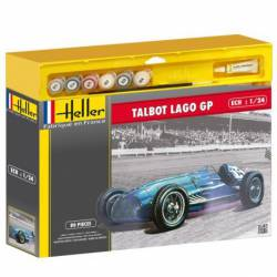 Talbot Lago GP, con pinturas. HELLER 50721