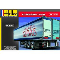 Refrigerated trailer. HELLER 80776