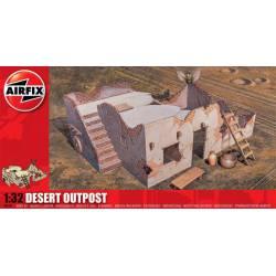 Desert outpost. AIRFIX A06381
