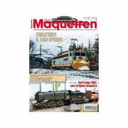Revista Maquetren, nº 299. Enero 2018