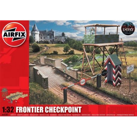 Puesto de control fronterizo. AIRFIX A06383