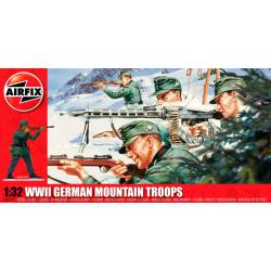 Tropas de montaña alemanas, WWII.